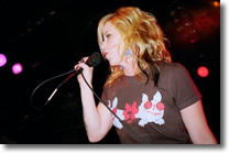 Kay Hanley at the 2009 Hot Stove Cool Music